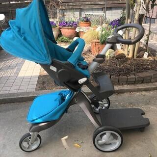 ストッケ エクスプローリー ベビーカー キャリーコット新生児対応