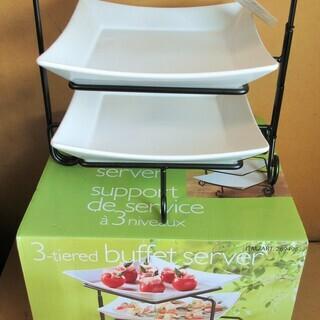 ☆3-tieredbuffet server support d...