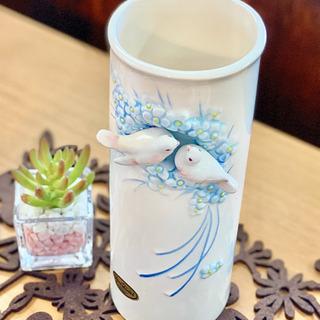 おしゃれな小鳥の花瓶