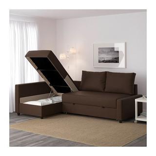 IKEA ソファ、ソファベッド、L字ソファ、収納付き