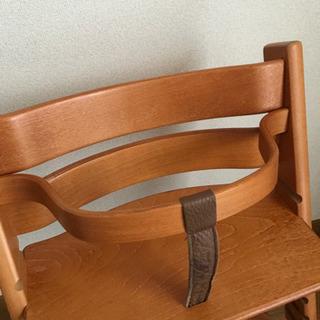 中古品 ベビーガードつきSTOKKE ストッケ TRIPP TRAPP トリップトラップ 子供椅子 ベビーチェア − 兵庫県