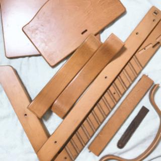 中古品 ベビーガードつきSTOKKE ストッケ TRIPP TRAPP トリップトラップ 子供椅子 ベビーチェア - 売ります・あげます