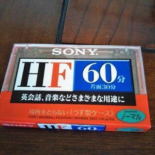 SONY★ソニー カセットテープ 60分