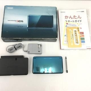 ニンテンドー Nintendo 3DS 本体 アクアブルー 任天堂