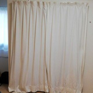 カーテン4枚 遮光カーテン2枚