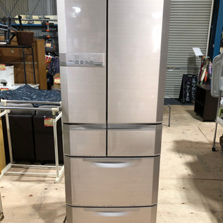MITSUBISHI フレンチドア445L 冷蔵庫 MR-E45...