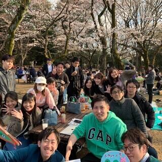 お花見2020☆@原宿代々木公園