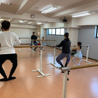 親子でバレエ 渋谷笹塚スタジオ