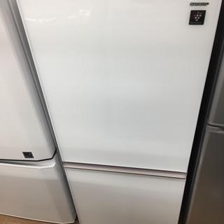 SHARPの2ドア冷蔵庫です!!