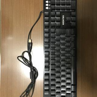 【美品】有線キーボード
