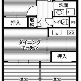 お得な物件!3DK!!!田町駅から徒歩12分!【敷金礼金保証人不...