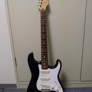 Fender Japan Stratcaster ST-STD(BK/R)の画像