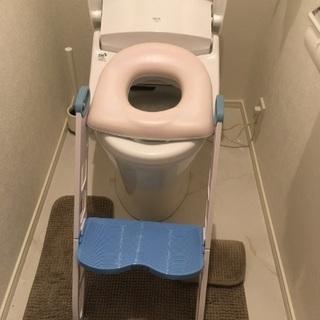 トイレ 踏み台 便座付き