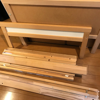 IKEAのベッド 70×160 分解済 大物処分