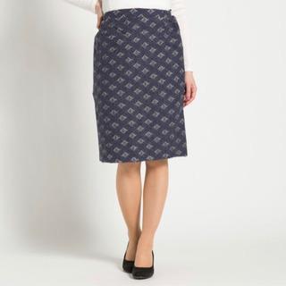 【しまむら】【本日限定セール】幾何柄タイトスカート