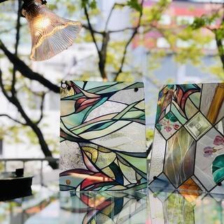 【4/24】ステンドグラス風オリジナルフォトフレーム作り