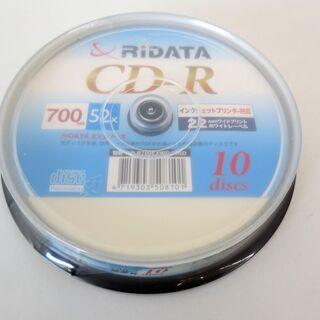 ■未使用品■RiDATA/ライデーダ CD-R 10枚入り