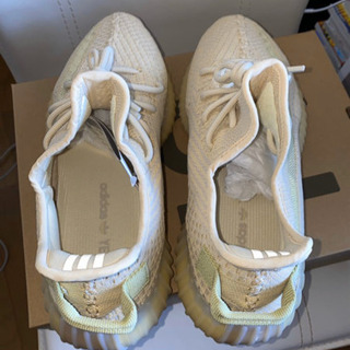 28.5cm アジア限定 adidas Yeezy Boost 350 V2 Flax イージーブースト350V2 FX9028 - 服/ファッション
