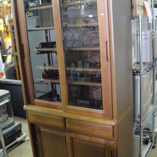 引き戸 ダイニングボード 食器棚 キッチン収納 フリーボード