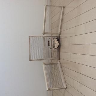 ナチュラル   壁飾り 3点セット&カウンターケース&棚飾り