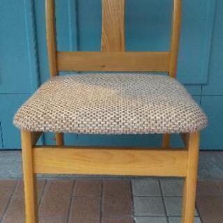 交渉中 富士木工  アンティーク 椅子2脚