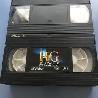 新品VHSビデオテープ 160分 20分3倍モード