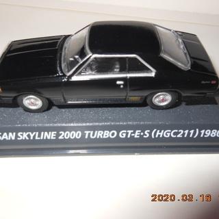 日産スカイライン2000TURBO GT-E・S(HGC211)...