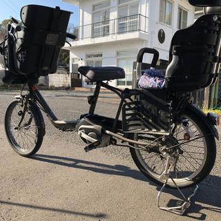 パナソニック3人乗り電動アシスト自転車