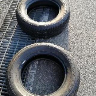 DUNLOP RVタイヤ  215/65/16 2本セット
