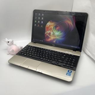 NEC Corei5 メモリ4GB HDD750GB ノートパソコン