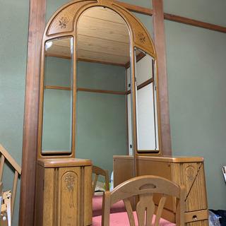 【お値下げ】大塚家具の三面鏡