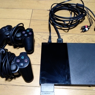 PS2本体 コントローラー2 メモリー1 ソフト14本