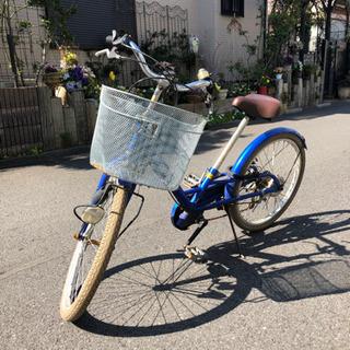 自転車 22インチ ピープル いち・ろく ジャンク【引取限定】