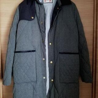 定価35万円 モンクレールガムブルー ロングダウンコート サイズ3