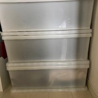 ニトリ 衣服収納ケース 三段