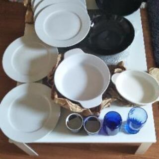 イケアのお皿各種&コップセット