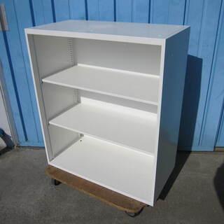 オープン書庫 オカムラ製レクトライン ホワイト 4B513Y Z...