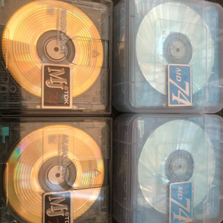 MDディスク 新品、開封済み12枚