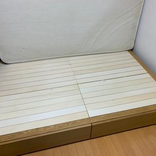 シングルサイズ、KINGSDOWNのベッド