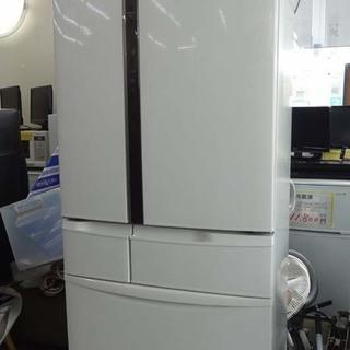 【恵庭発】5ドア パナソニック 17年製冷蔵庫 NR-FVF452