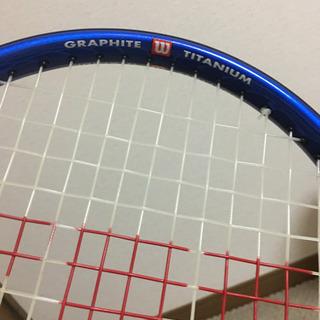 【引取先決定】テニスラケットあげます - スポーツ