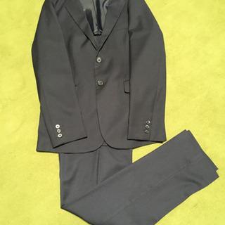 150cm紺色スーツ