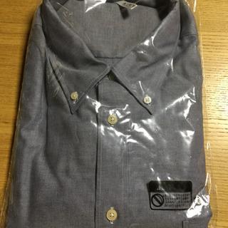 [新品]長袖オックスフォードワイシャツ 5L