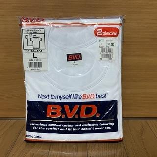 B.V.D. Tシャツ2枚組(新品)