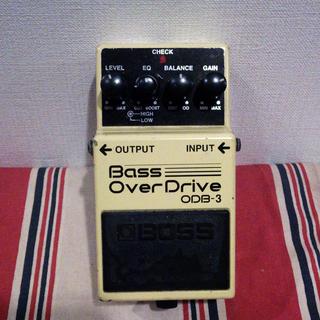 【Yオ】 ベース用エフェクター Bass オーバードライブ 中古