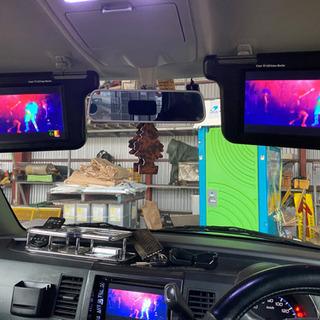 車検対応 9インチバイザーモニター 動作確認済み✨