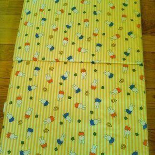 安心安全の日本製品★お昼寝マット&綿毛布&良品枕3点セット…