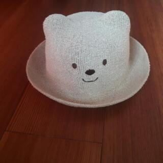 帽子2種類(ハットとニット)