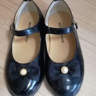 【お取引中】女児フォーマル靴 19cmの画像