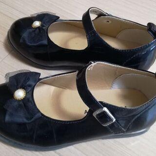 【お取引中】女児フォーマル靴 19cm - 大阪市